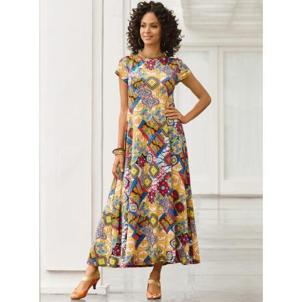 Kaleidoscope Maxi Dress by Studio EY
