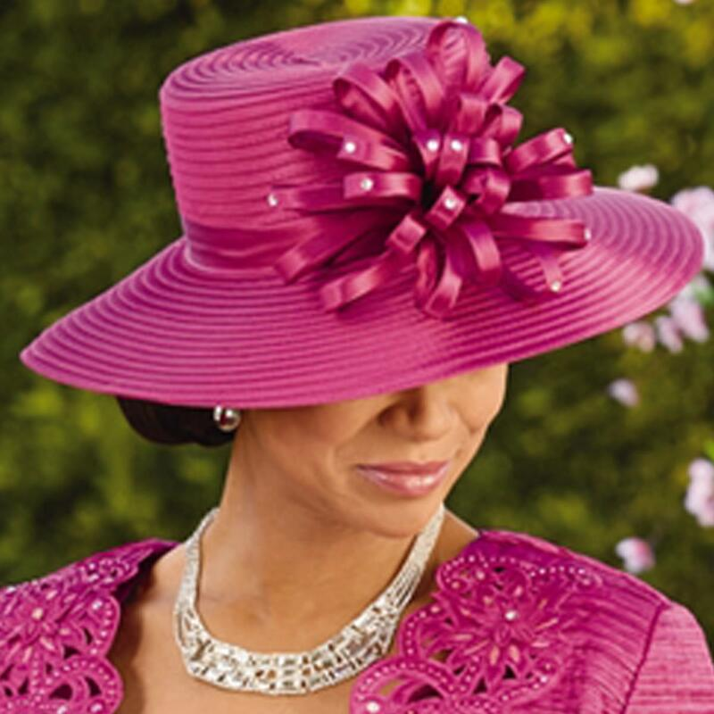 db5007bf43c New Elegance Church Hat by EY Signature. Previous. 3. 1