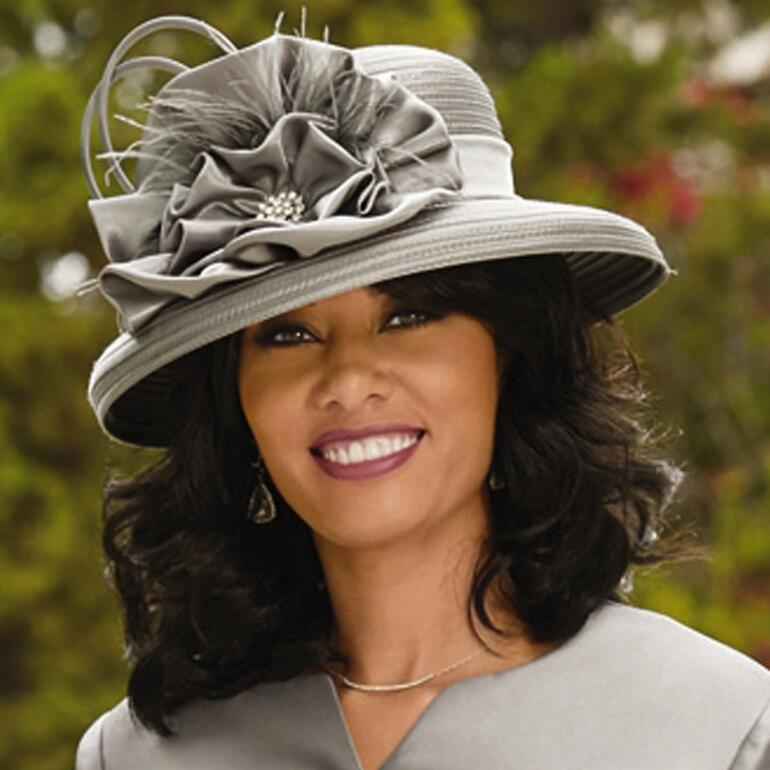 Fabulous Trims Church Hat by EY Boutique