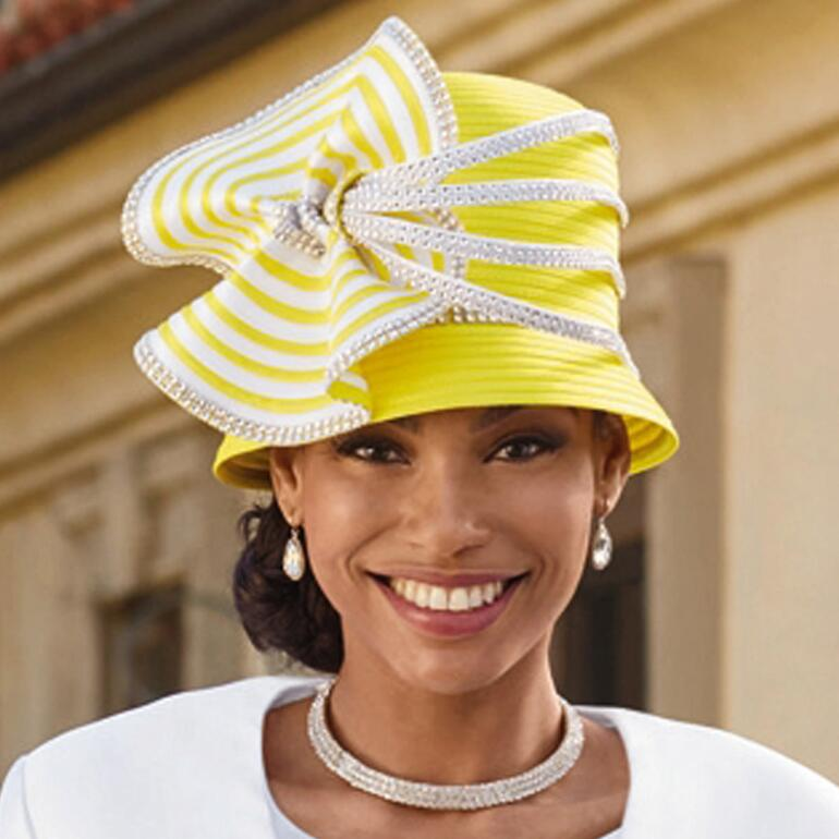 Between the Lines Church Hat by EY Boutique