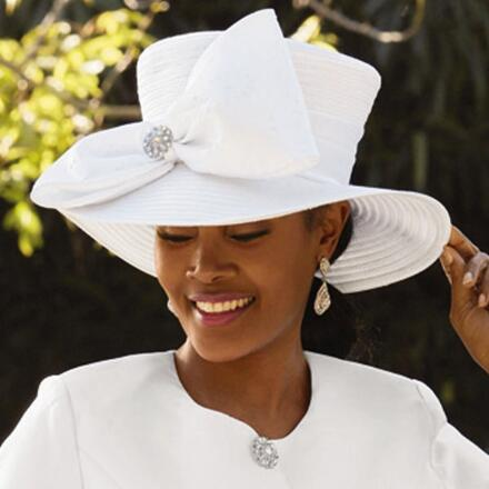 Couture Touches Church Hat by EY Signature