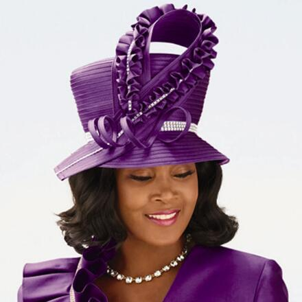 Grand Church Hat 2 by EY Boutique