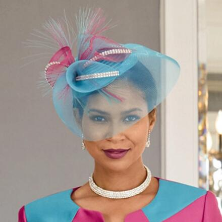 Expressions of Color Church Hat by LUXE
