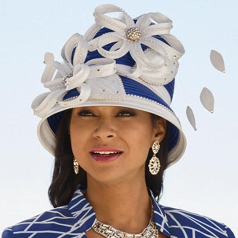 Burst of Style Church Hat by EY Boutique