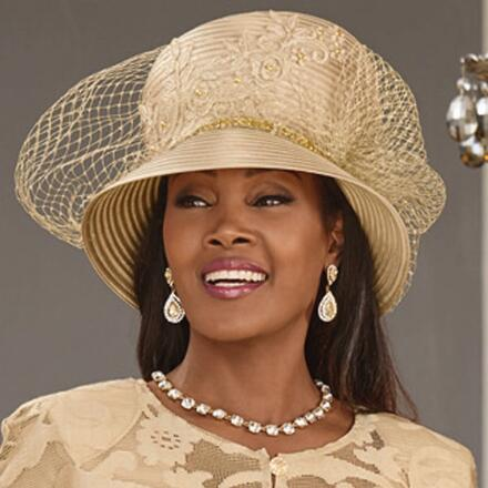 Lovely in Lace Church Hat by LUXE