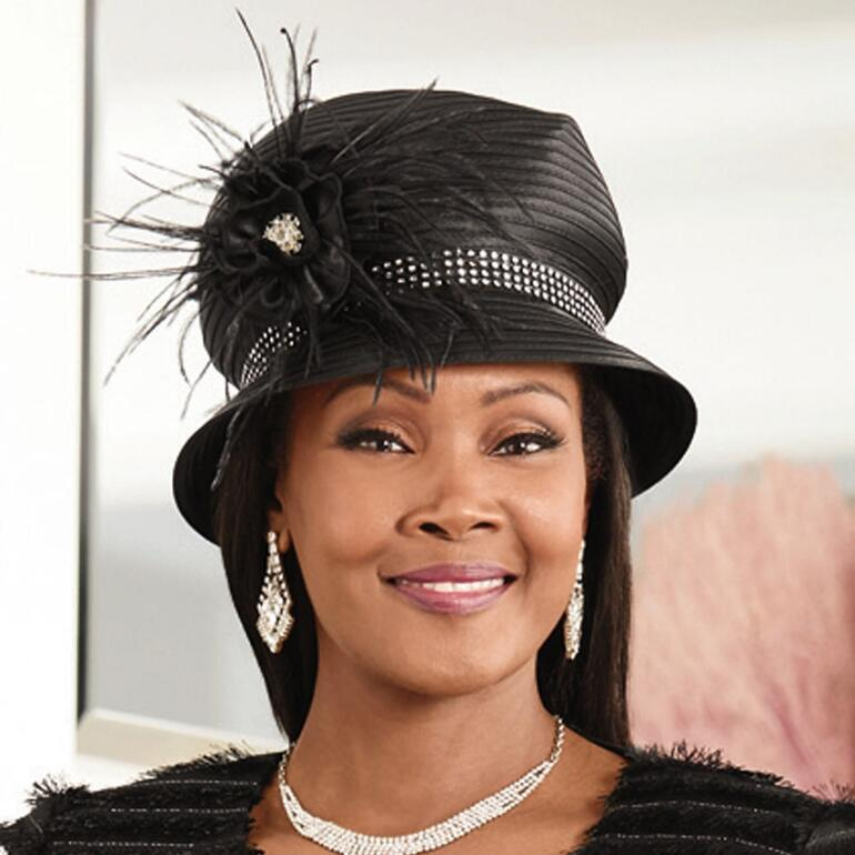 Fabulous in Stones Church Hat by LUXE