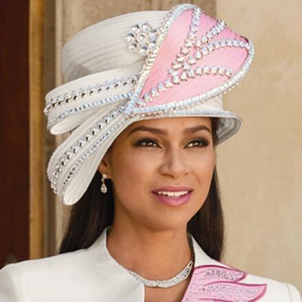 Lustrous Church Hat by EY Boutique
