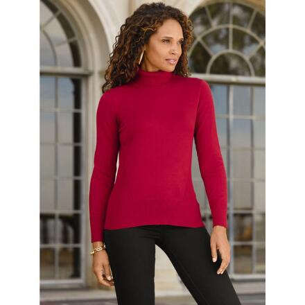 Long-Sleeved Turtleneck by Cable & Gauge