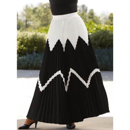 Plenty of Pleats 2 Maxi Skirt by Studio EY