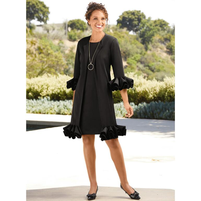 Still Mad About Ruffles Jacket Dress by Studio EY