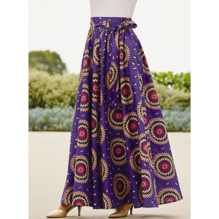 Tika's Kaleidoscope Maxi Skirt by Studio EY