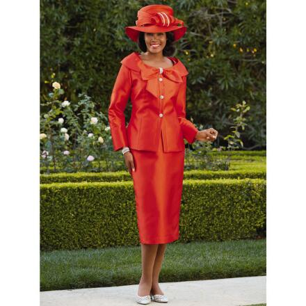 Color Closeout Lady Willene Suit by EY Signature