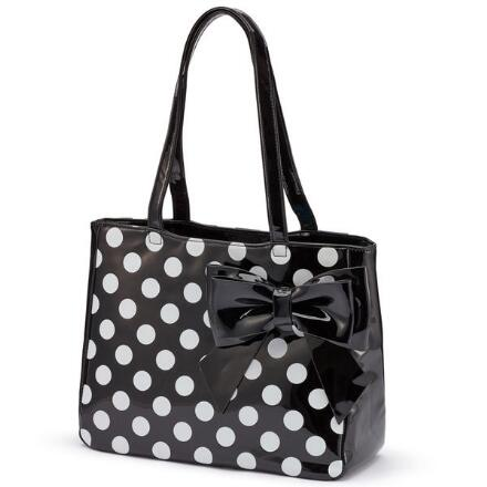 Color Closeout Patently Fabulous Tote by EY Boutique