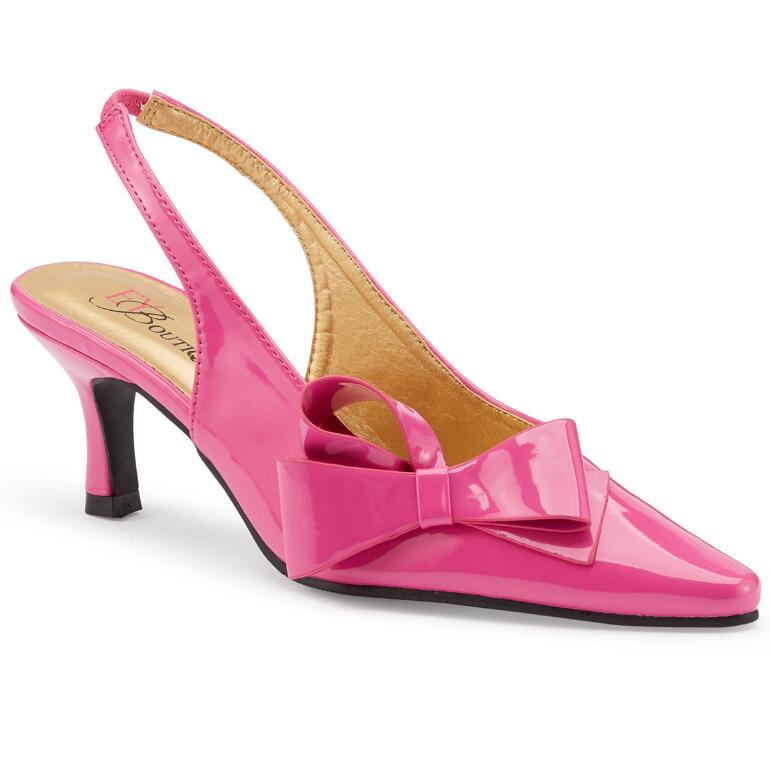 Color Closeout Patently Fabulous Slingback II by EY Boutique