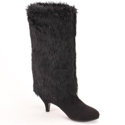 Color Closeout Tall Prefurred Boots by EY Boutique