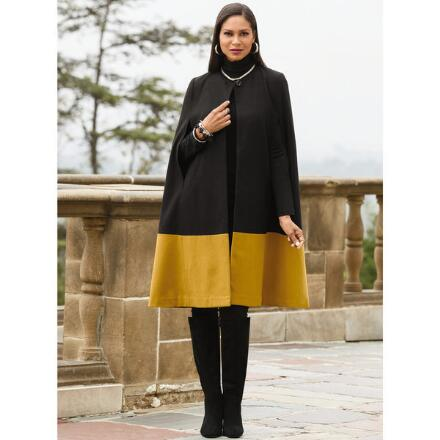 Color Closeout Color My World Wool Cape by Studio EY