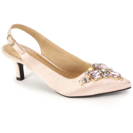 Color Closeout Gemma Jewels Slingback by EY Boutique