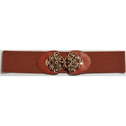 Color Closeout Bold Scrolls Belt by MBT Design