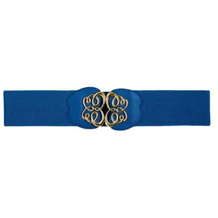 Color Closeout Gold Scrolls Belt by MBT Design