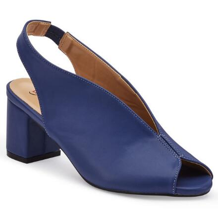 Color Closeout Glam Vamp Slingback by EY Boutique