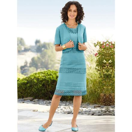 Color Closeout Crochet Cachet Jacket and Dress by Studio EY