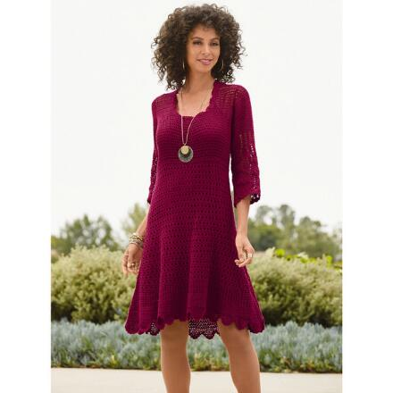 Color Closeout Crochet Dress by Studio EY