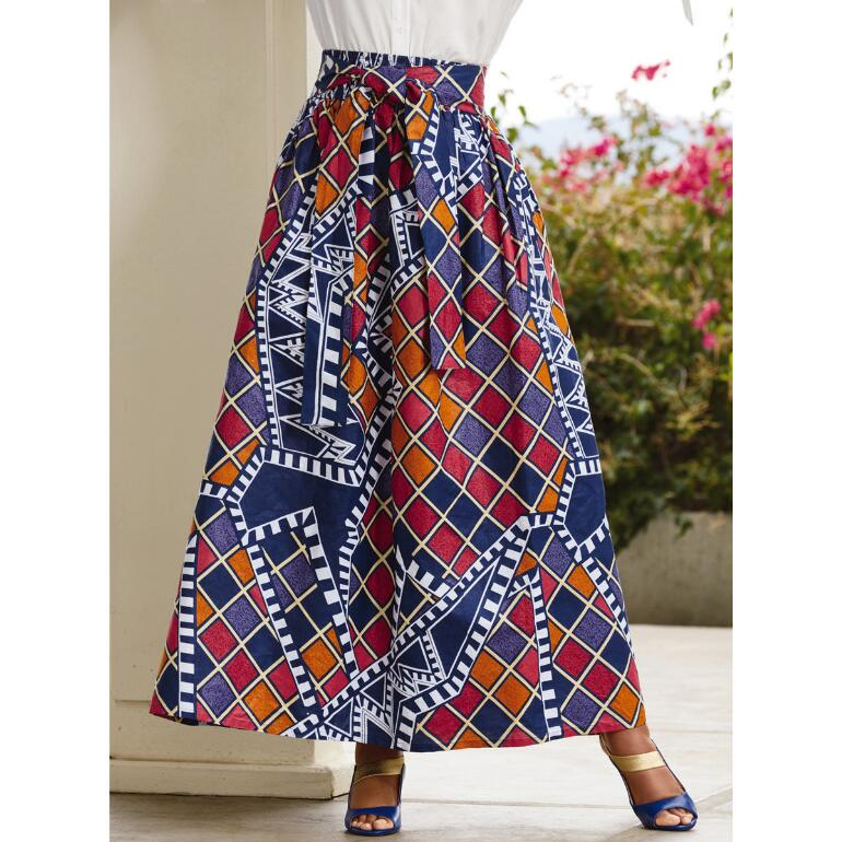 Vibrant Vibes Maxi Skirt by Studio EY