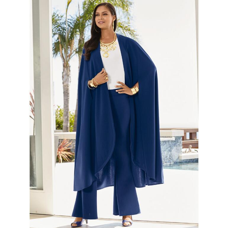 Tailor Made Cape Pantset by Studio EY