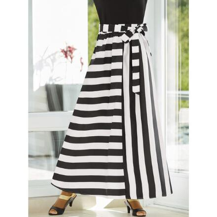 Contrast Stripes Maxi Skirt by Studio EY