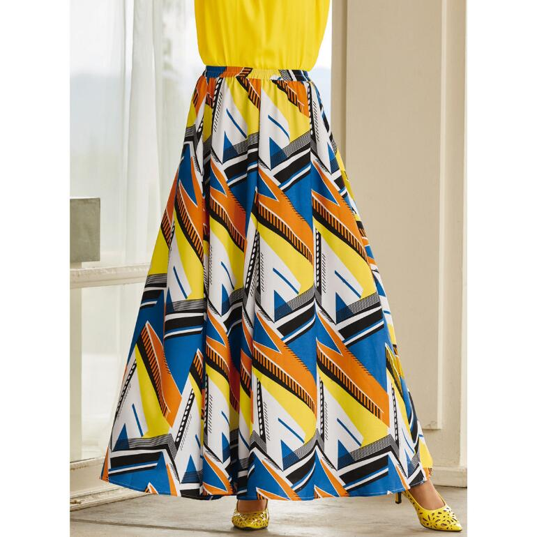 Bolts of Bold 5 Yard Maxi Skirt by Studio EY