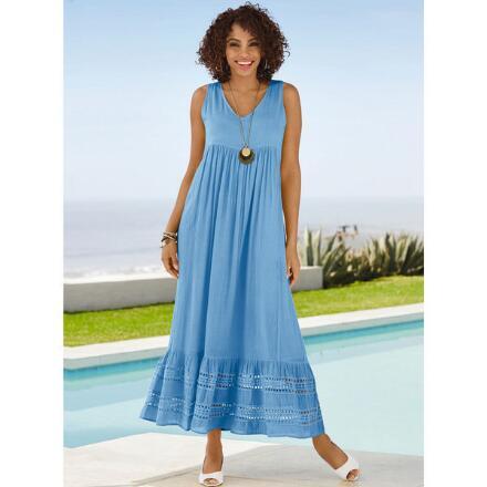 Breezy Crochet-Trim Dress by Studio EY