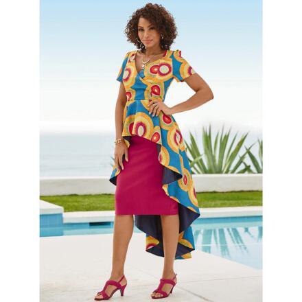 Anisha Print Dress by Studio EY