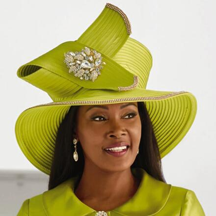 Classic Elegance Church Hat by LUXE