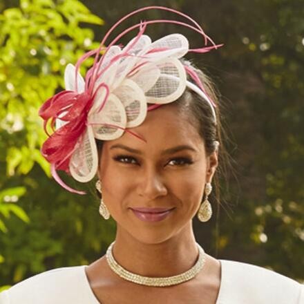 Floral Fantasy Fascinator by EY Signature