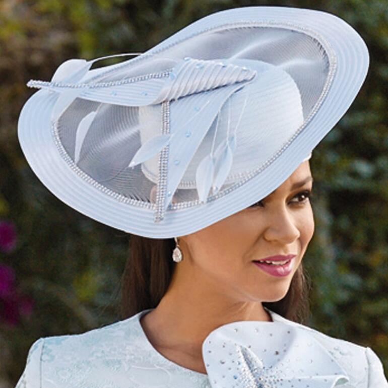 Pretty Petals Church Hat by EY Boutique