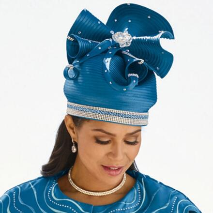 Curves of Shine Church Hat by EY Boutique