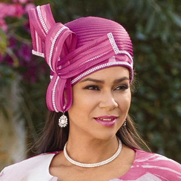 Artful Petals Church Hat by EY Boutique