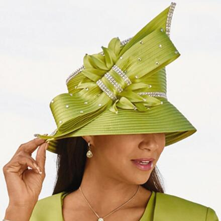 Glam Bow Church Hat by EY Boutique