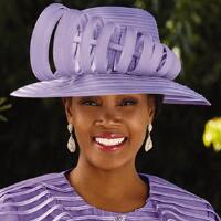 Ribbons of Style Church Hat by EY Boutique