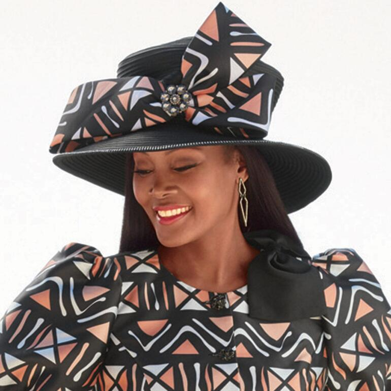 Bold Expression Church Hat by Tally Taylor