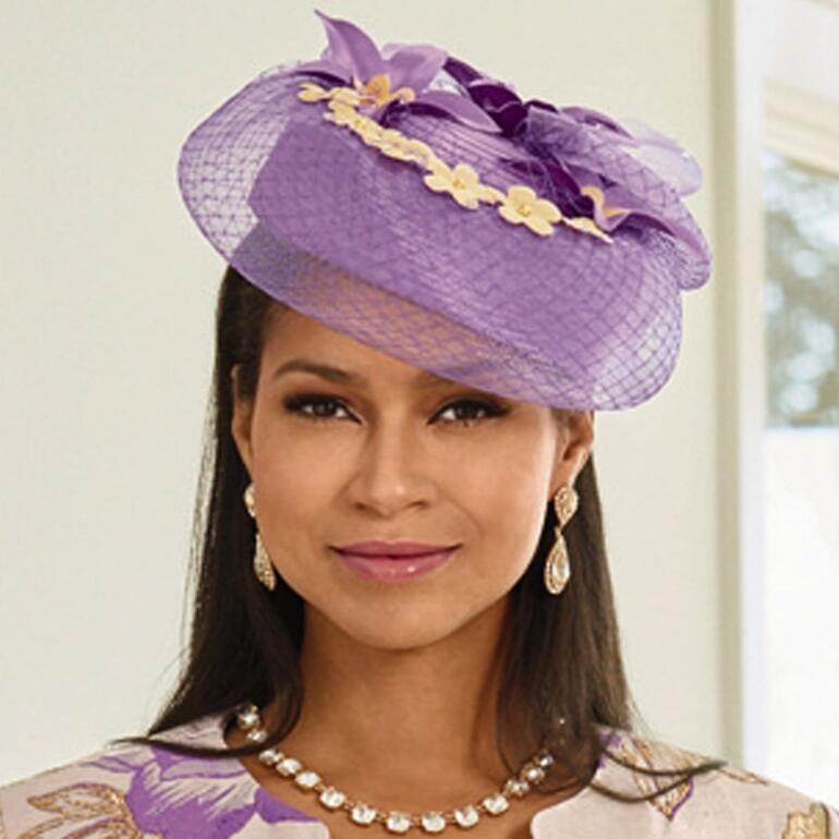 Blossom Church Hat by LUXE