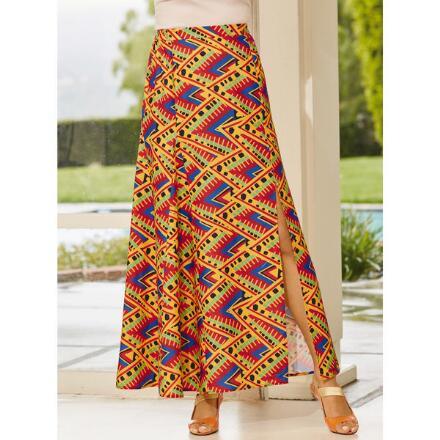 Anya Side-Slit Maxi Skirt by Studio EY