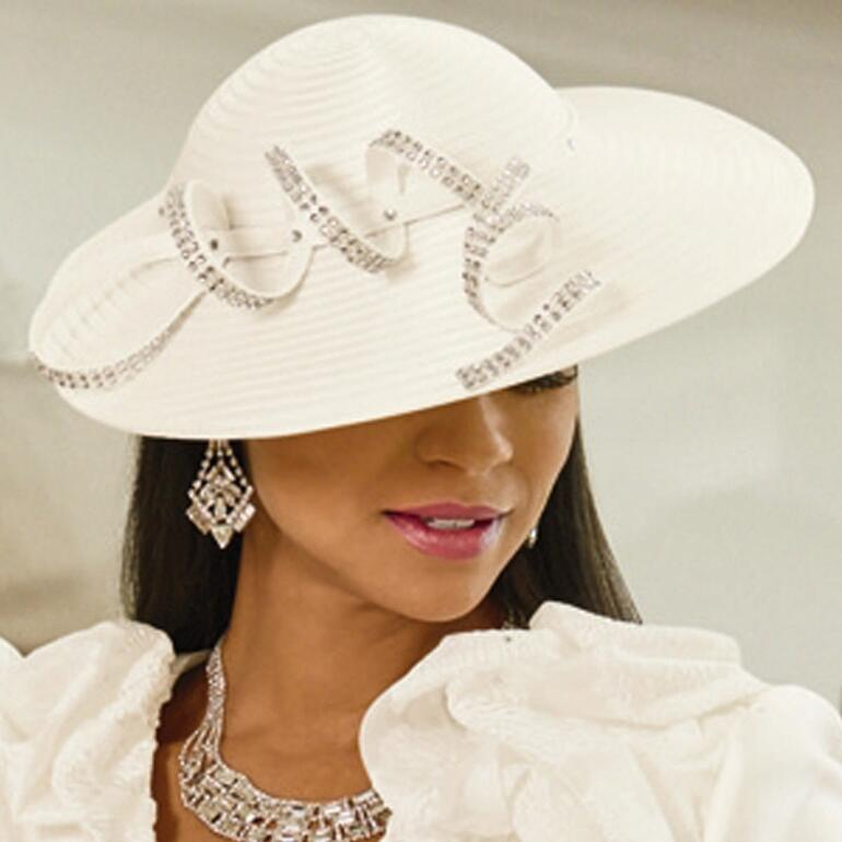 Pure Elegance Church Hat by LUXE