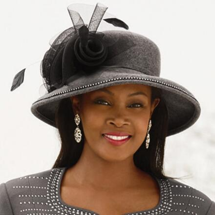Shine Aligns Church Hat by EY Boutique