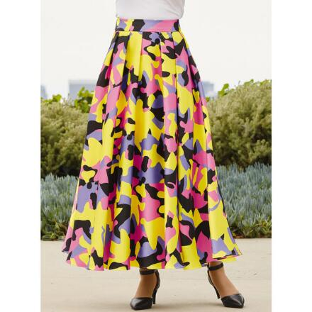 Fantasy of Color Maxi Skirt by Studio EY