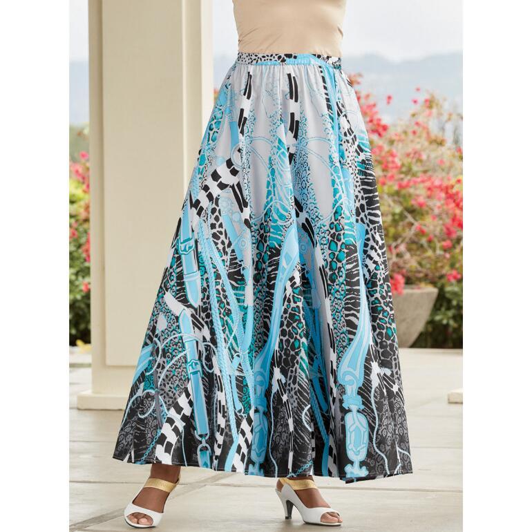 Status Chain 5-Yard Skirt by Studio EY