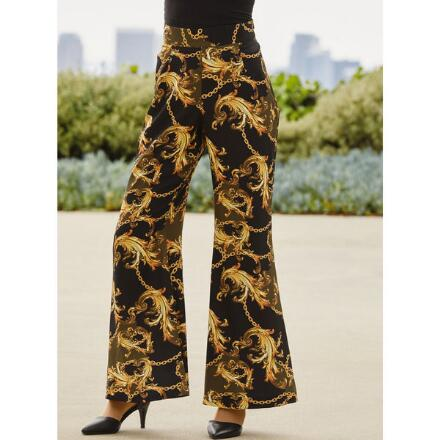 Runway-Print Pant by Studio EY