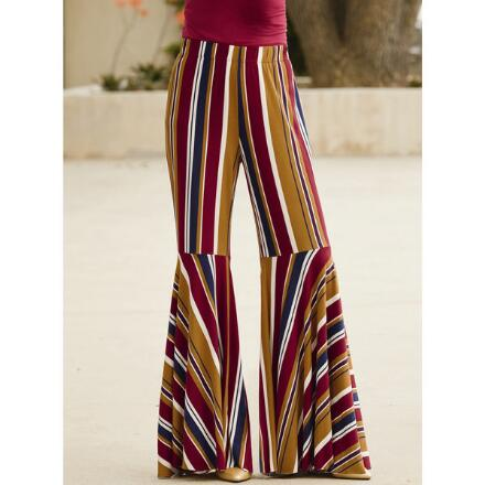 Flow 'n' Flare Striped Pant by Studio EY