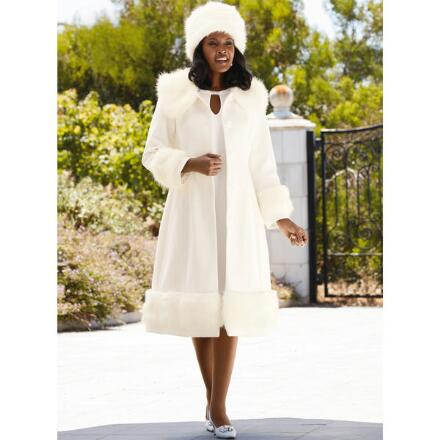 Everlasting Elegance Coat and Hat Set by LUXE