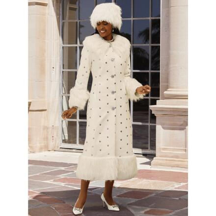 Winter Wonderland Coat by LUXE